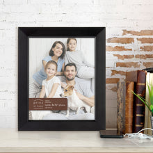 Load image into Gallery viewer, Prinz Dakota 8 Inch X 10 Inch Wood Picture Frame Picture Black