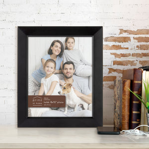 Prinz Dakota 8 Inch X 10 Inch Wood Picture Frame Picture Black