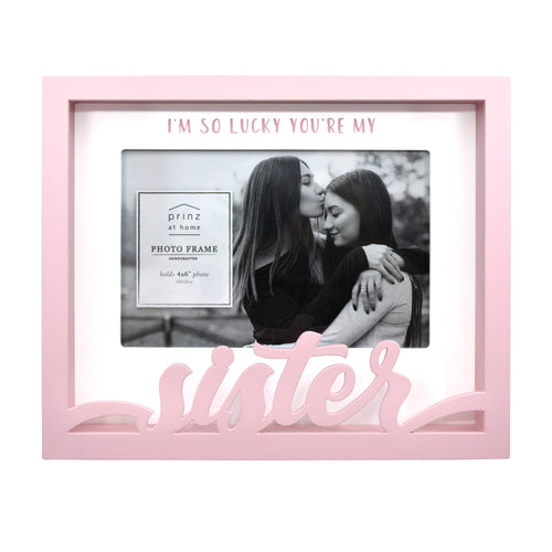Sister Shadow Box Word Picture Frame