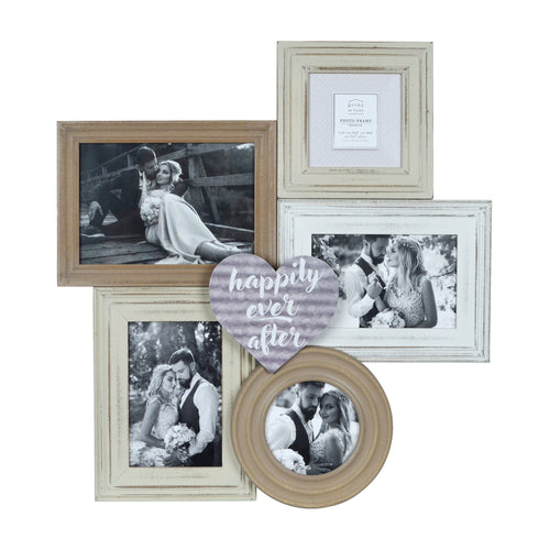 Prinz Happily Ever After Multi Shape 5 Opening Collage Picture Frame