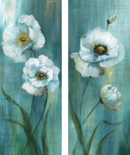Load image into Gallery viewer, Prinz Forest Blossoms 8-inches by 20-inches Canvas Wall Art Set of 2