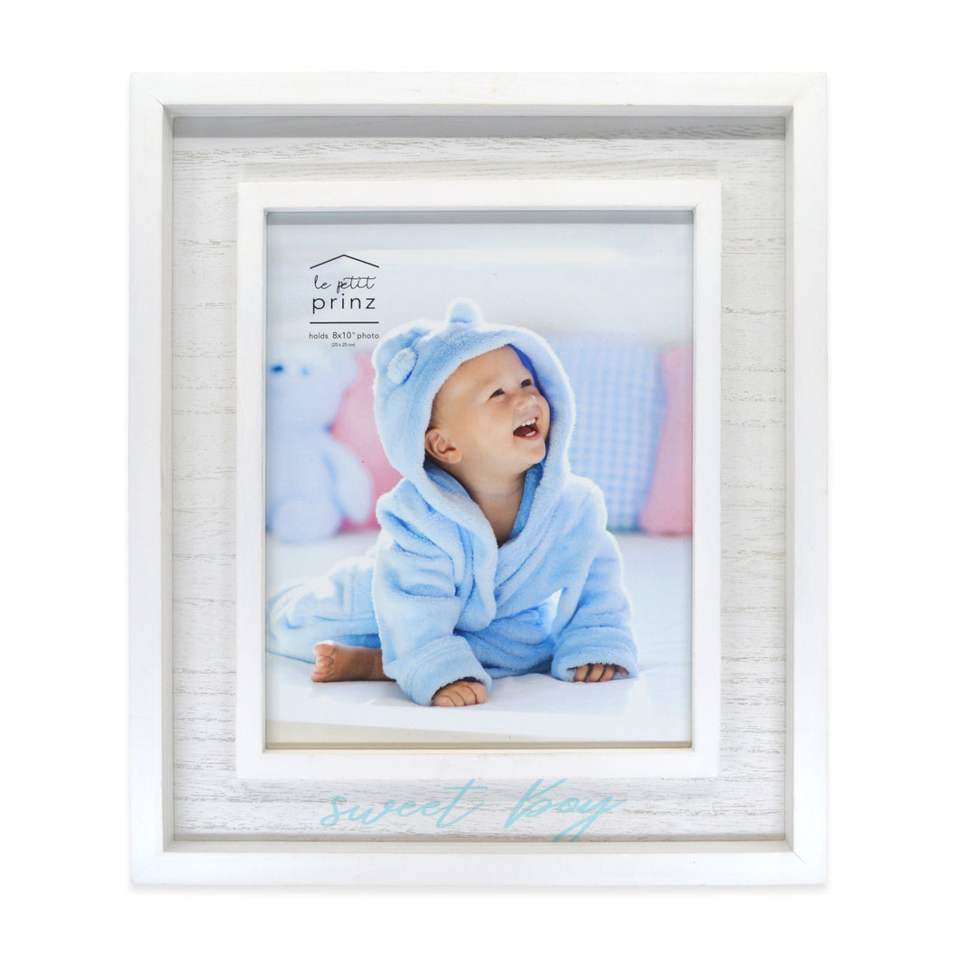 Sweet Boy 8 x 10-inch Boxed Wood Picture Frame