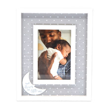 Load image into Gallery viewer, Dream On Little One 4 x 6-inch Wood Baby Picture Frame