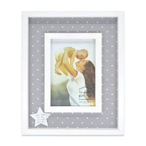 4 x 6-inch You are My Wish Come True Wood Baby Picture Frame