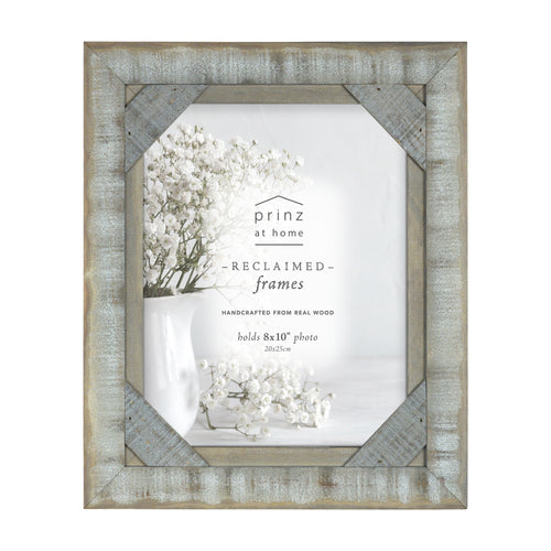 Mixed & Mingled 8 x 10 Reclaimed Wood Picture Frame, Gray