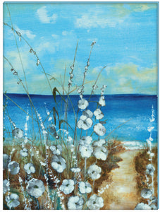 "Prinz Beachside Wrapped Canvas 30"" x 40"" Wall Décor"