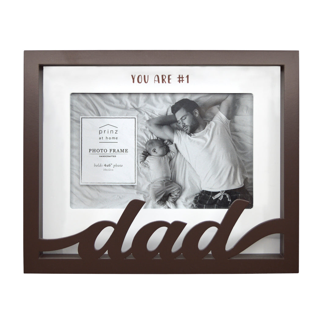 Dad Shadow Box Word Picture Frame