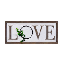 Load image into Gallery viewer, Prinz Love Rustic Barnwood Sign