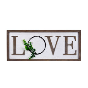 Prinz Love Rustic Barnwood Sign