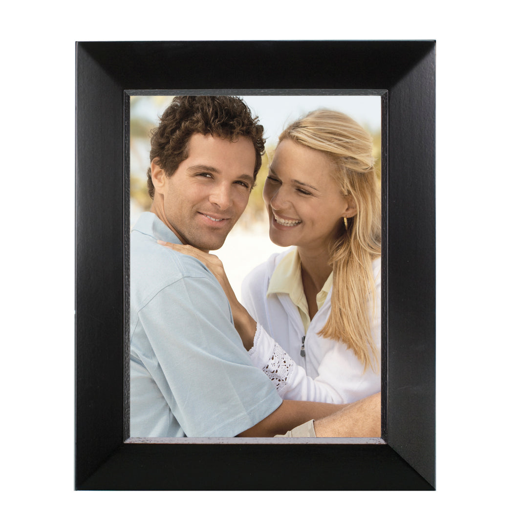 Prinz Dakota 6 x 8-inch Wood Picture Frame, Black