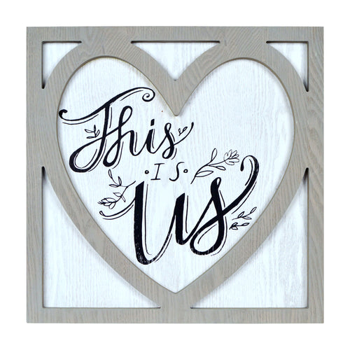Prinz This Is Us Sentimental Wall Sign