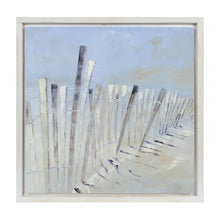 Load image into Gallery viewer, Prinz Coastal Dune Blue Decoupaged Inset Wall Art Framed