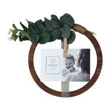 Load image into Gallery viewer, Hanging Ribbon Collage Circular Wall Display, 1 Clothespin Clip