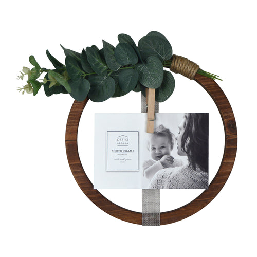 Hanging Ribbon Collage Circular Wall Display, 1 Clothespin Clip