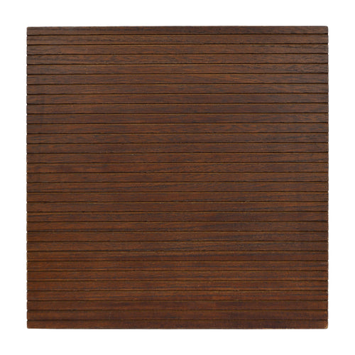 Prinz 12-inch Square Brown Letterboard