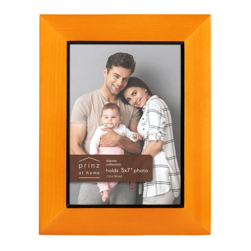 Prinz Dakota 5 Inch X 7 Inch Wood Picture Frame Picture Chestnut