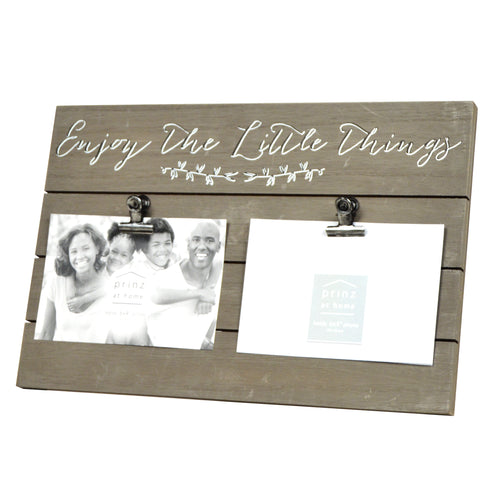 Plank Sentiments Clip Collage Picture Frame