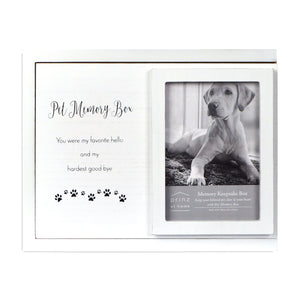 Prinz Pet Memory Box, White