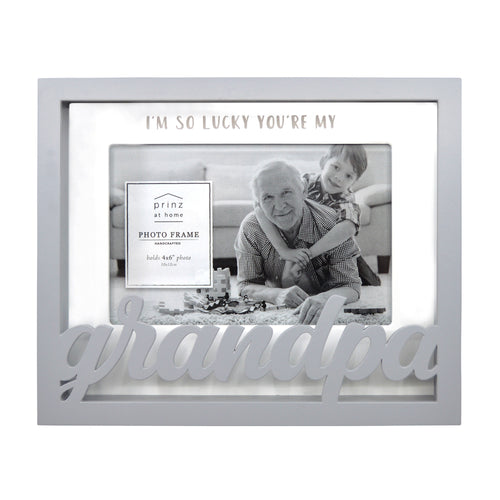 Grandpa Shadow Box Word Picture Frame