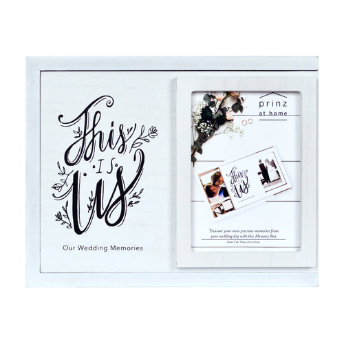 Prinz Wedding Keepsake Memory Photo Box