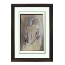 "Load image into Gallery viewer, Prinz  16.5"" x 22"" Framed Female Figure Silhouette Wall Art"