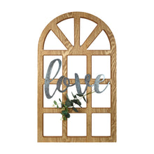"Load image into Gallery viewer, New View Studio 18""x 30"" Love Cathedral Window Hanging Wall Art"