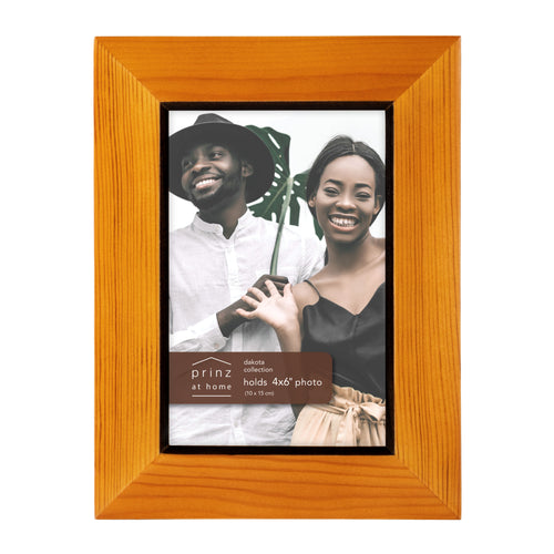 Prinz Dakota 4 Inch X 6 Inch Wood Picture Frame Picture Chestnut