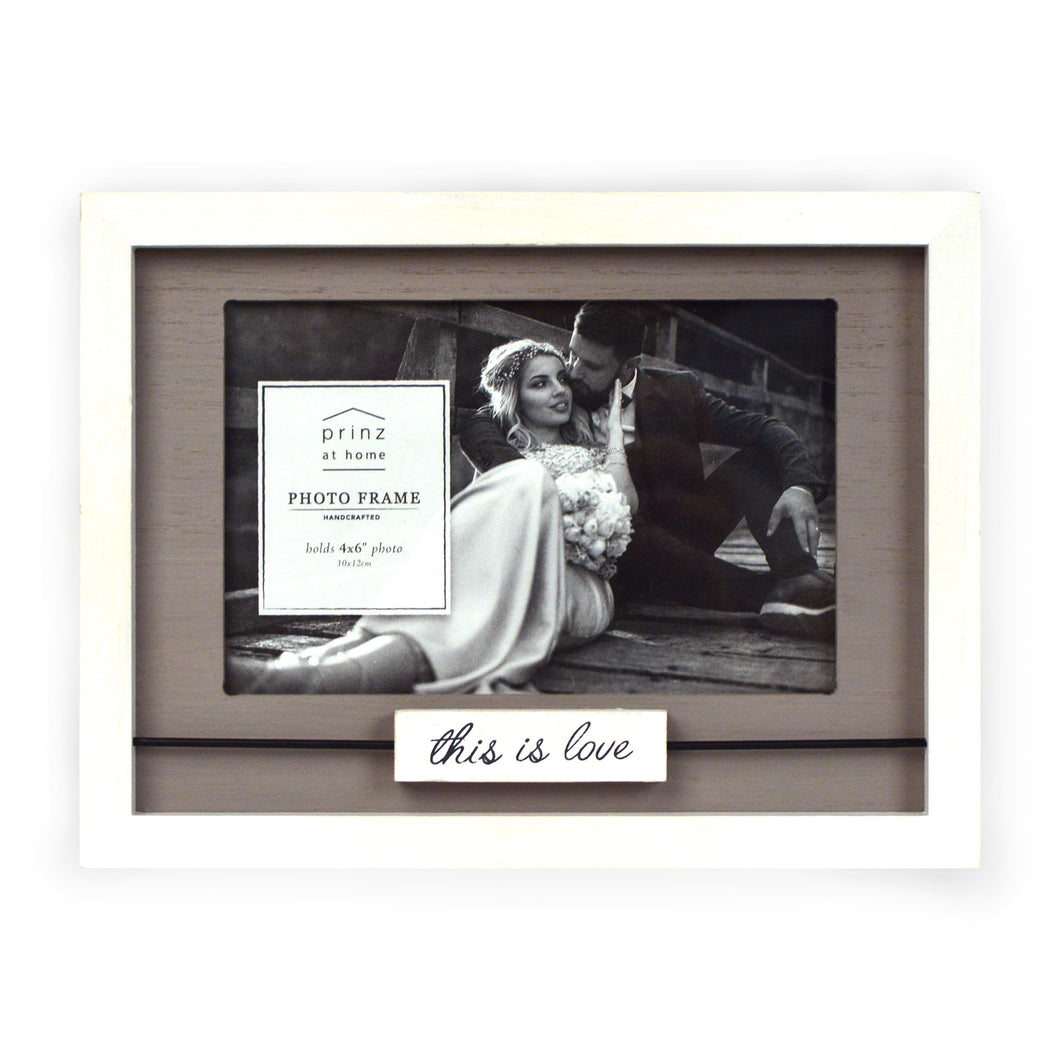 This is Love Boxed Wood Picture Frame