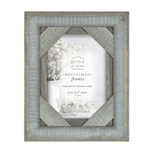 Load image into Gallery viewer, Mixed & Mingled 5 x 7 Reclaimed Wood Picture Frame, Gray