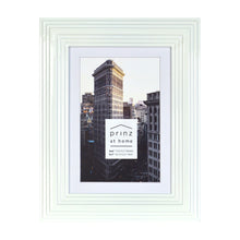 Load image into Gallery viewer, Midtown High Gloss White 4 x 6 Molded Modern Frame