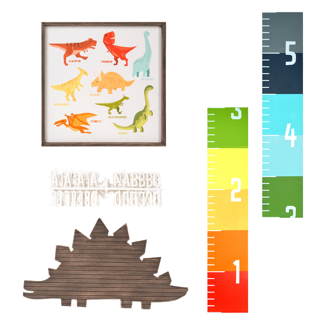 Rawr Kids Room Dinosaur Decor Set