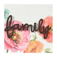 Load image into Gallery viewer, Lisa Audit Decorative Word Wall Art Sign, Family