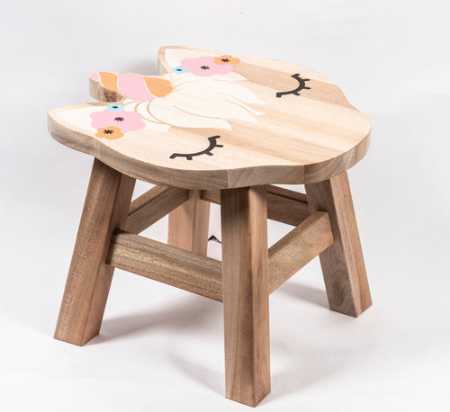 Prinz Unicorn-shaped Children's Stool