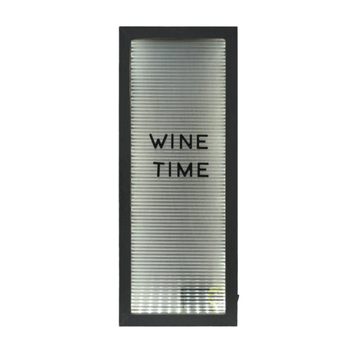 Prinz Light Up Cork Holder Letterboard Rectangular