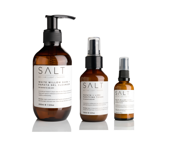 White Willow Bark + Papaya Gel Cleanser 200ml - SALT Skincare & Lifestyle Store
