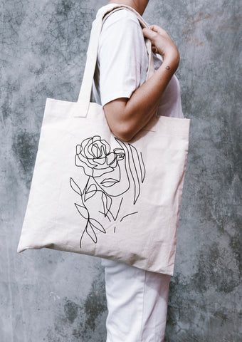 The Wildflower Tote - SALT Skincare & Lifestyle Store