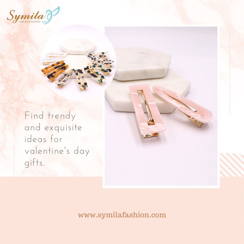 Cute Hair Clips That Are Perfect for Your Valentine Day