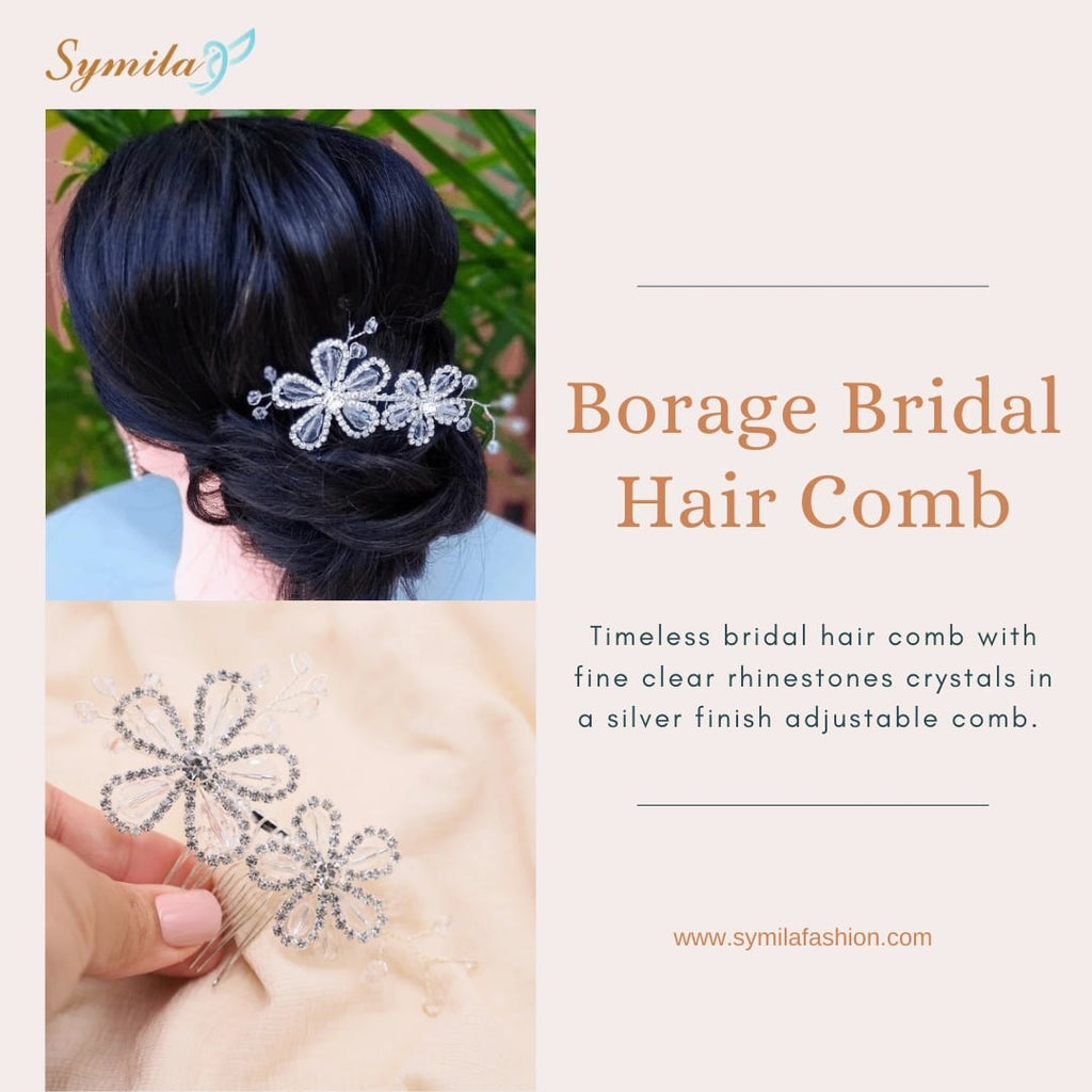 You Must Have Bridal Hair Clips for Your Wedding Day