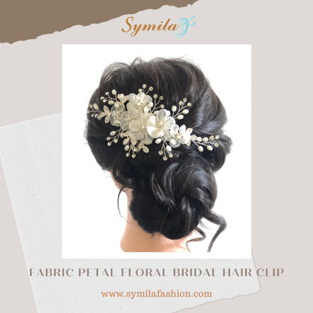 Get Beautifully Designed Wedding Day Hair Accessories