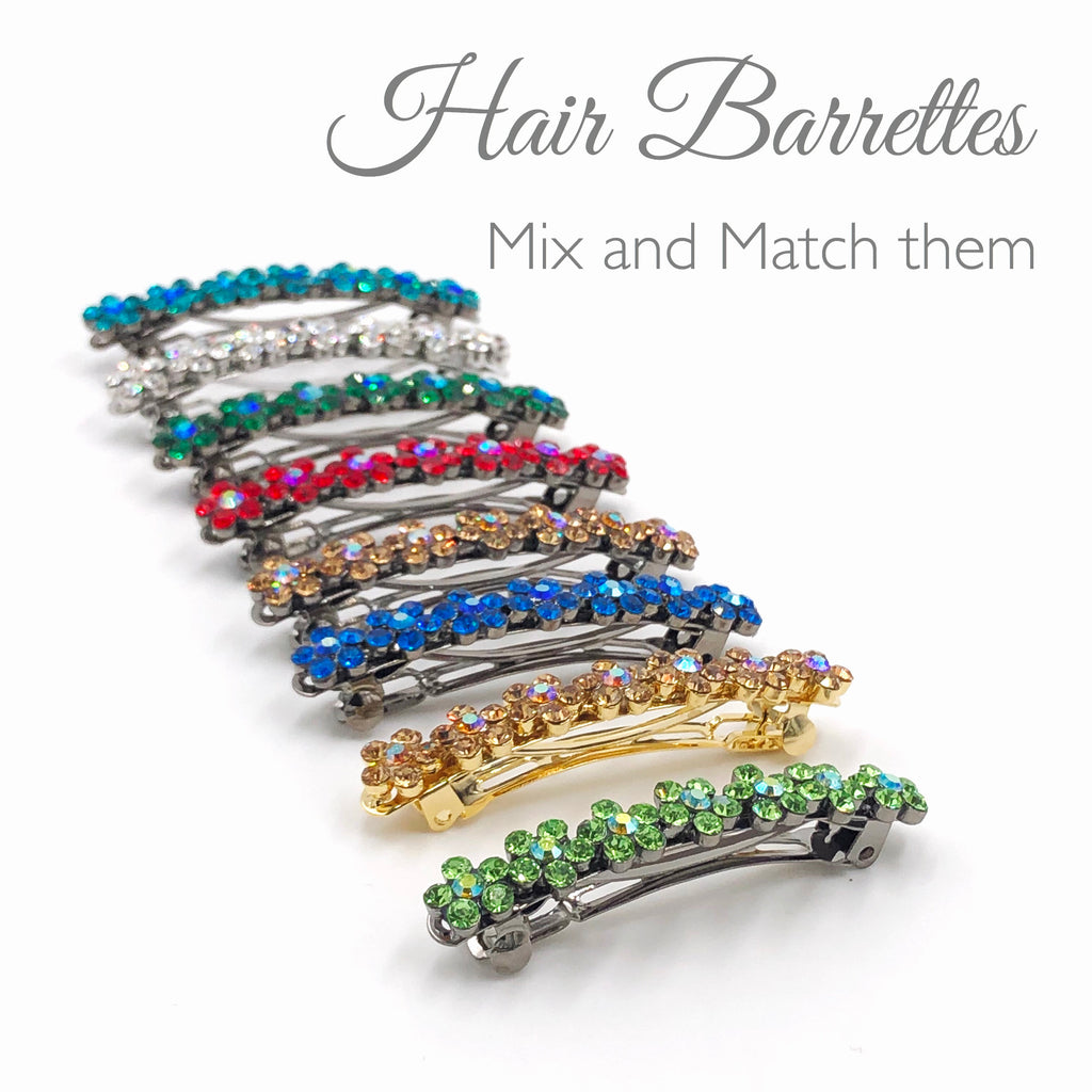 Hair barrette for adults
