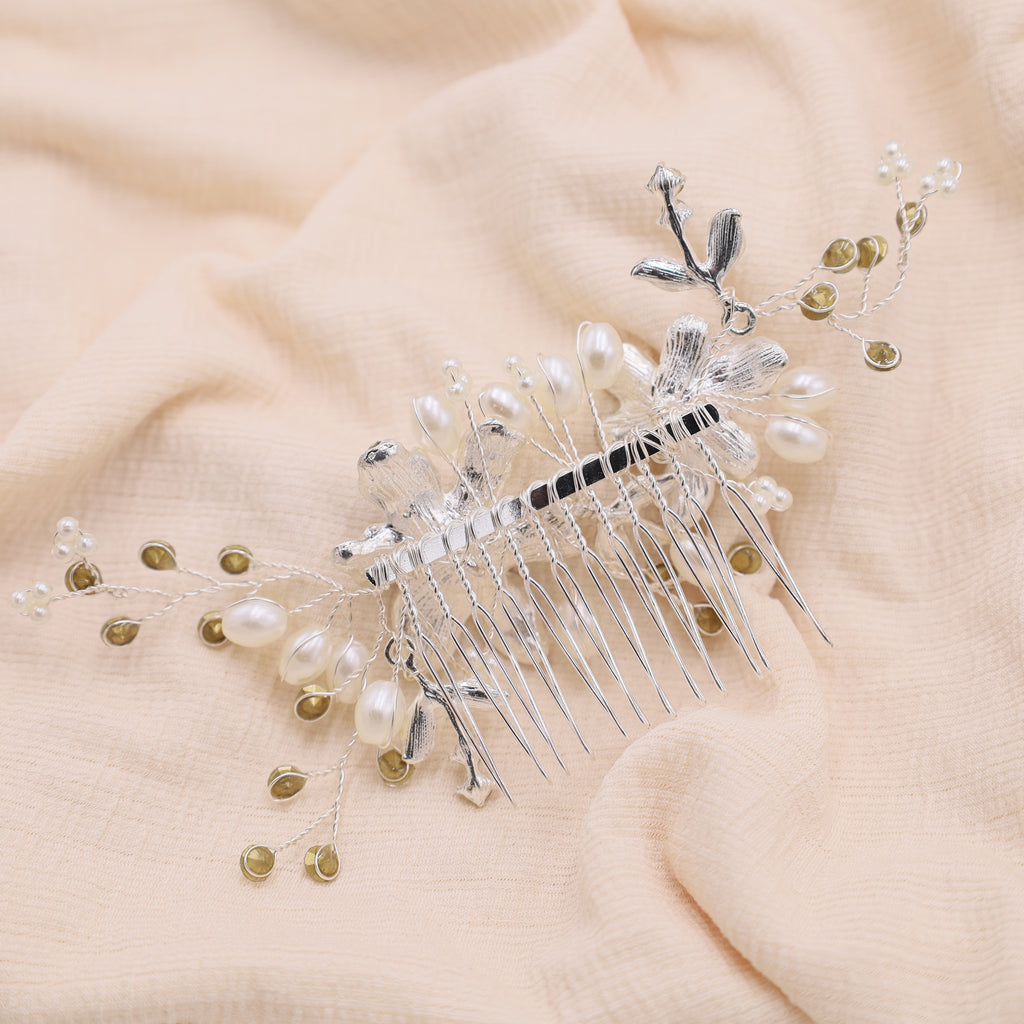 Wedding Rhinestone Crystal Hair Comb