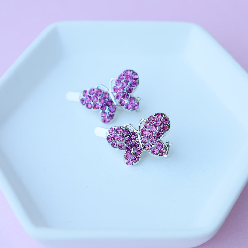 Butterfly Magnetic Hair pin (Set of 2)
