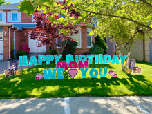 Load image into Gallery viewer, Birthday Letters Package #1