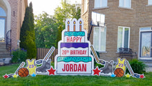 Load image into Gallery viewer, Custom Phrase for Birthday Cake-extra fee