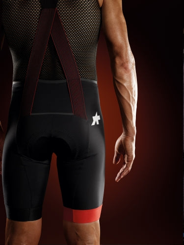 【ASSOS / アソス】EQUIPE RS BIB SHORTS S9 national red(メンズ ビブショーツ)