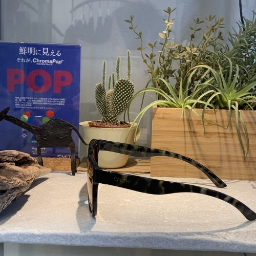 【SMITH / スミス】CAPER camo tort(ChromaPop  Polarized rose gold mirror)