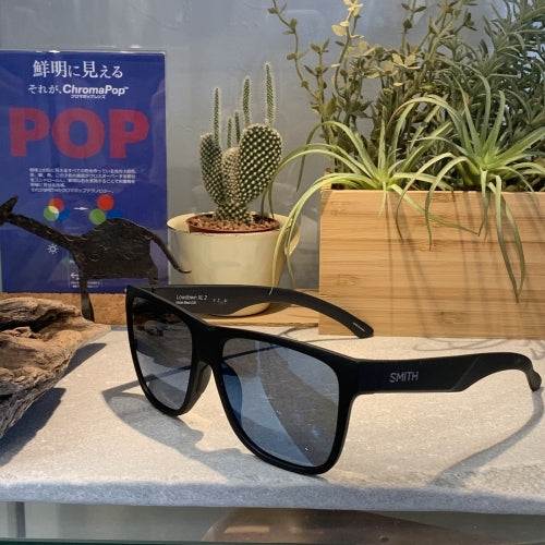 【SMITH / スミス】LOWDOWN XL 2 matte black(ChromaPop  Polarized blue mirror)