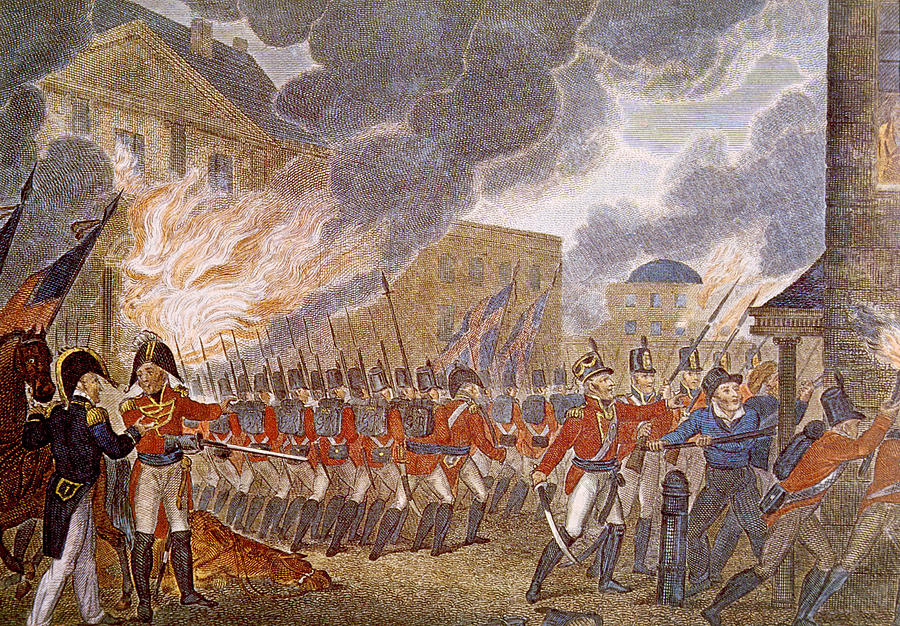 The Burning of Washington, DC