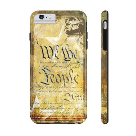 We The People Tough iPhone Case