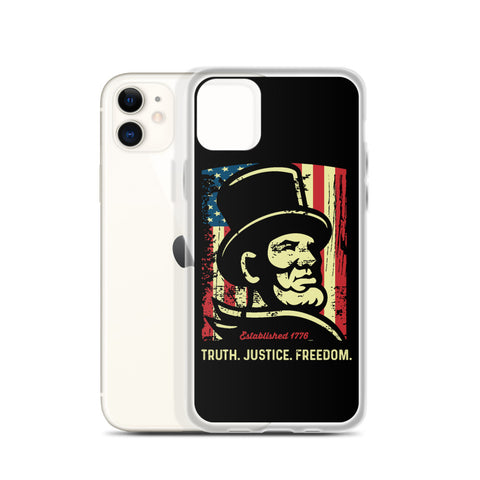 Honest Abe iPhone Case